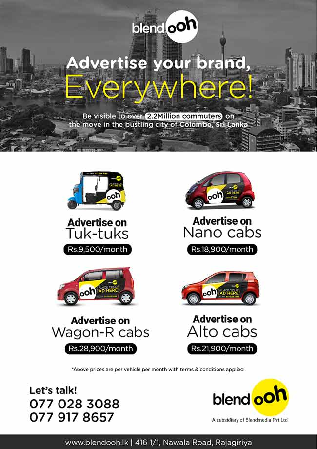 Advertise your brand everywhere with BlendooH.