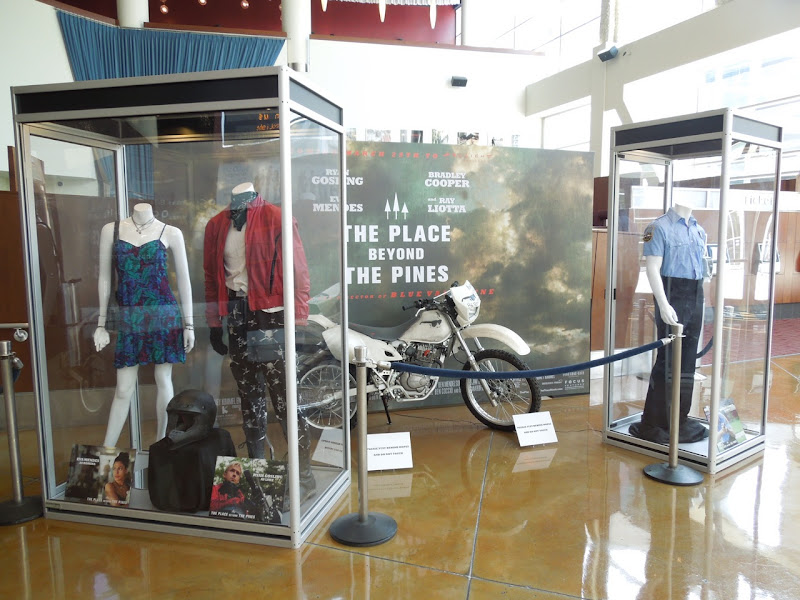 Place Beyond The Pines movie exhibit