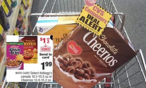 Honey Nut Cheerios CVS Deal $0.74