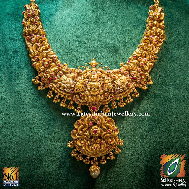Classic Nakshi Necklace from Sri Krishna