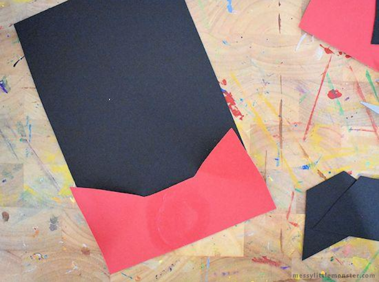 vampire paper craft