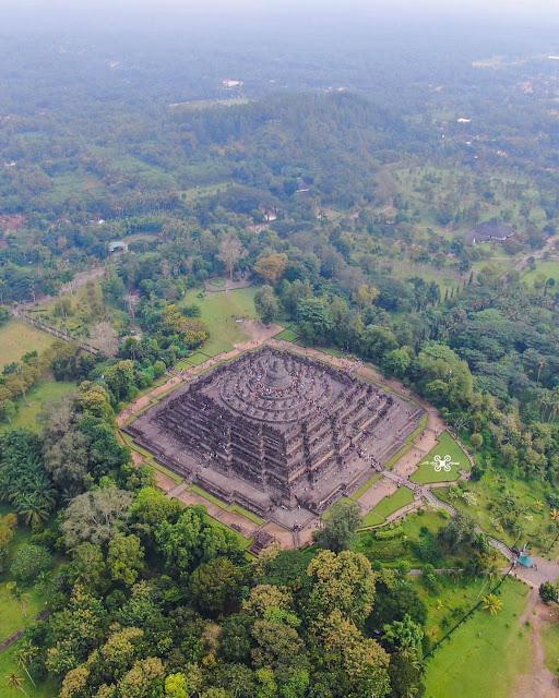 Panorama Candi Borobudur