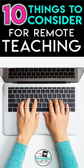 10 Things to Consider for Remote Teaching