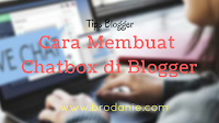 Cara Membuat Chatbox Keren Di Blog Yang Super Ringan