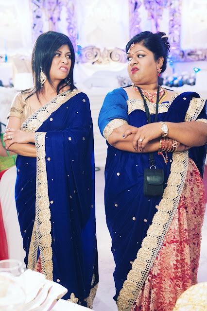 Jailoshini Naidoo (Jennifer Kandasamy) and Maeshni Naicker (Shanti Naidoo) © Helena Spring Films / Junaid Ahmed Productions