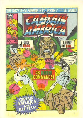 Captain America #13, Dr Doom and the Dazzler