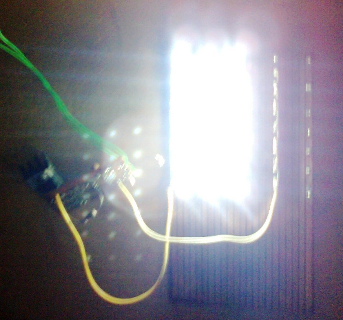 Solar Led Light Circuit With Automatic Charger Electronic Circuit