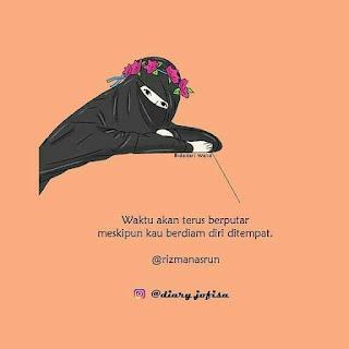 anime muslimah bercadar