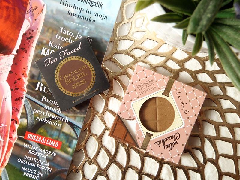 bronzery, konturowanie, Milky Chocolate, Chocolate Soleil