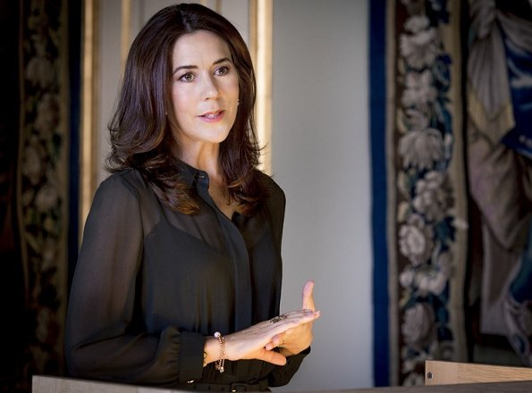Crown Princess Mary attend the official opening of new building of new Nordic Museum in Seattle. Princess attend a series of events of art and culture