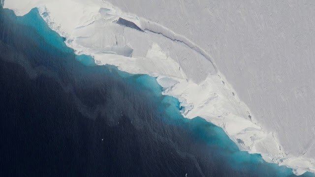 Instability in Antarctic ice projected to make sea level rise rapidly