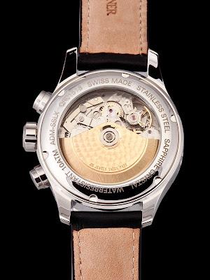Karl Breitner Admiral automatic watch ETA Valjoux 7750 movement