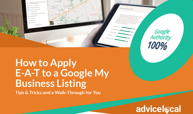 Why Google EAT should be considered for Google My Business listing