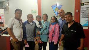 IWO Lakukan Mediasi, Kapolres Samosir Tangguhkan Penahanan Pasangan Lansia