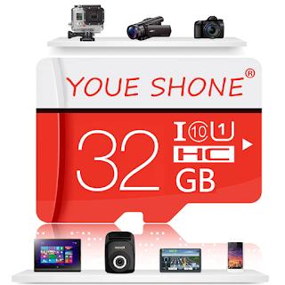 MicroSD 32Go Youe SHONE