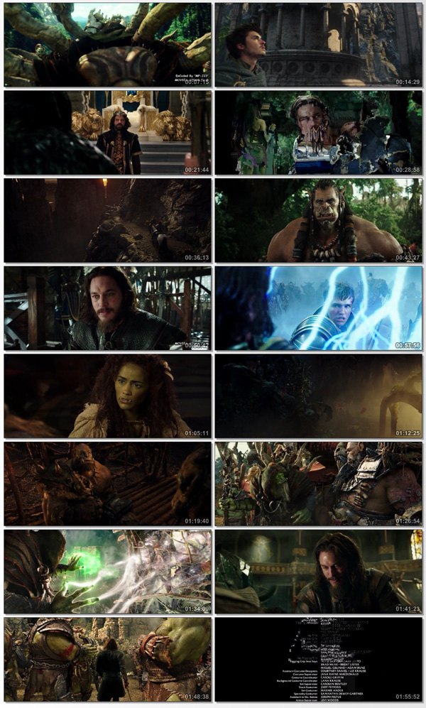 Warcraft The Beginning 2016 Dual Audio