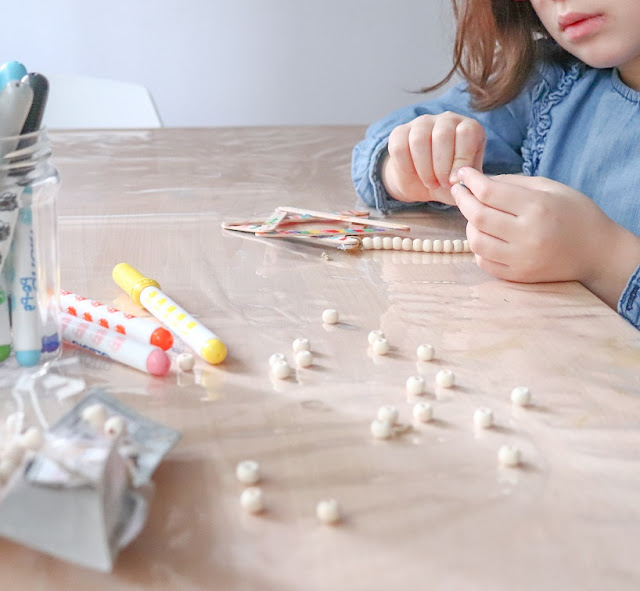 perles bois pour loisirs creatifs