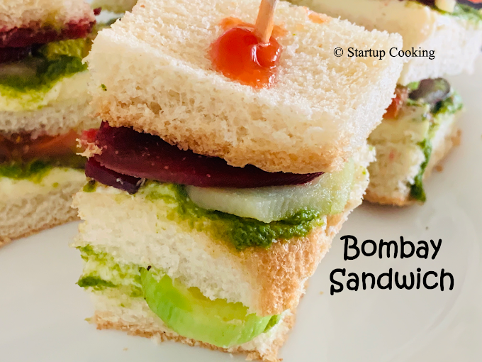 Bombay Sandwich Recipe | How to make Bombay Sandwich recipe | Startup Cooking