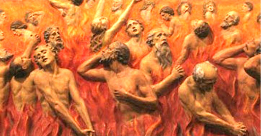 Purgatory — A Place of Torment for Dying Catholics to Anticipate