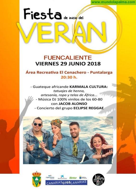 Fiesta de inicio del Verano en Fuencaliente