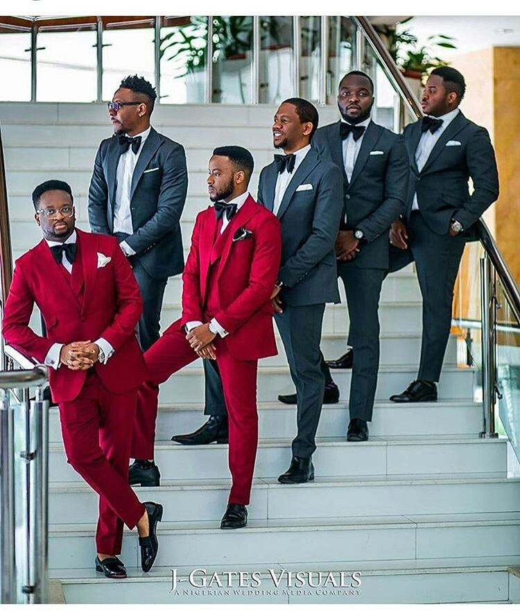 Mens Suits Wedding Ideas: Groom And Groomsmen Wedding Suit Styles And Attire Ideas