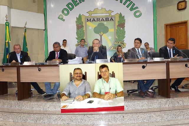 CÂMARA MUNICIPAL DE MARABÁ REJEITA PEDIDO DE CASSAÇÃO DO PREFEITO JOÃO SALAME E DO VICE LUIZ CARLOS