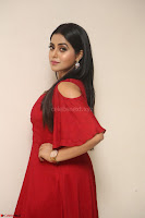 Poorna in Maroon Dress at Rakshasi movie Press meet Cute Pics ~  Exclusive 148.JPG