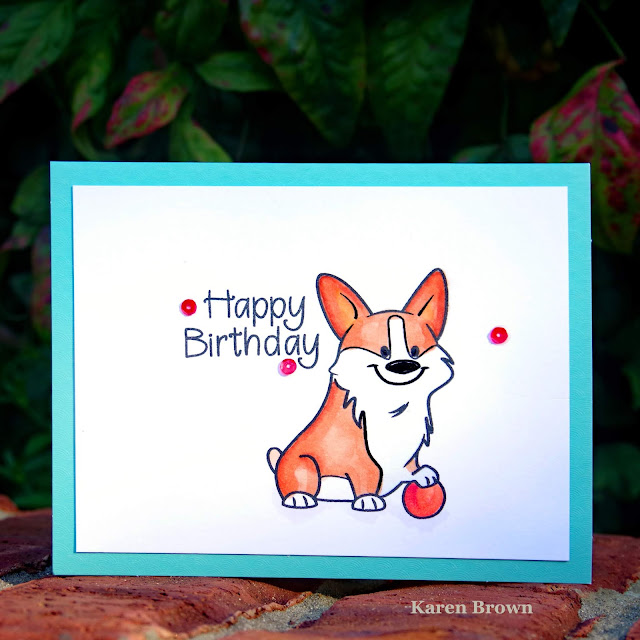 Stamps of Life Corgi2stamp
