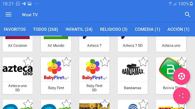 تحميل تطبيق woxi tv لمشاهدة القنوات العالمية المشفرة وقنوات الافلام العالمية