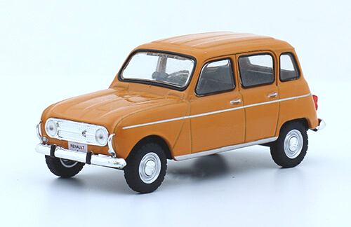 Grandes autos memorables Renault 4