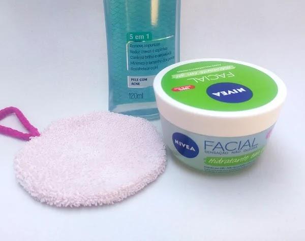 Hidratante Facial Nivea Gel Ácido Hialurônico Pepino Resenha