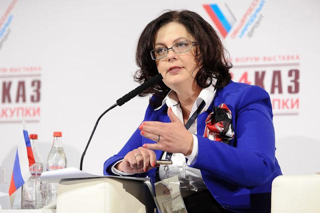 вице-президент Торгово-промышленной палаты Елена Дыбова