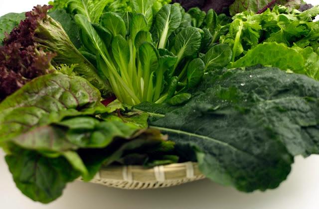 الخضراوات الورقية الداكنة - سيدتي