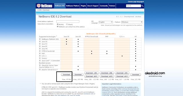 Netbeans IDE Download