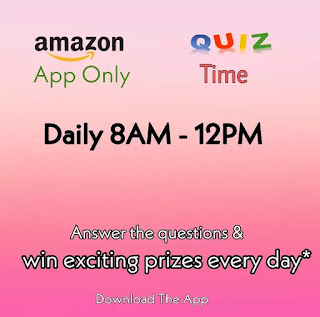 Amazon Quiz Answers Today for 11th April 2020