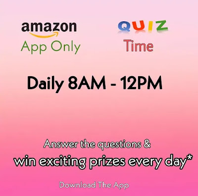 Amazon Quiz Answers Today 16th April 2020 Win