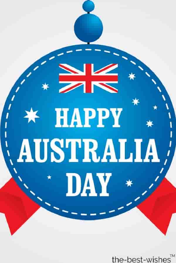 wishing you and your family happy australia day