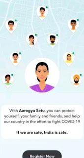How to use Aarogya Setu App in Hindi