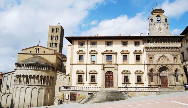 Arezzo en la Toscana