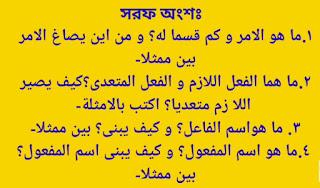 আরবি ২য় পত্র আলিম সাজেশন ২০২০ |  আলিম আরবি ২য় পত্র সাজেশন ২০২০
