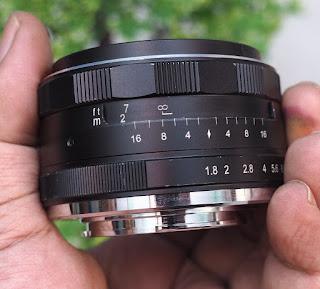 Lensa Meike 25mm f1.8 for Fujifilm