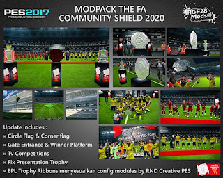 Images - PES 2017 The FA Community Shield 2020 Mods