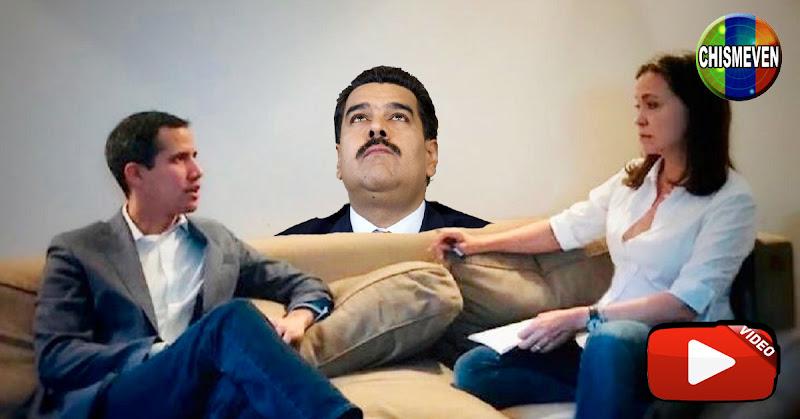 Comeflores de Guaidó atacan a Extremistas de Maria Corina por las redes