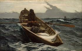Jamie's On the Stormy Sea by Bernard Covert