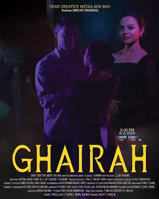 poster telefilem ghairah