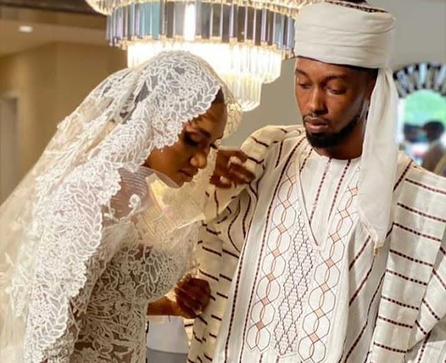 Photos from former VP Atiku's son wedding to Ribadu's daughter in Abuja