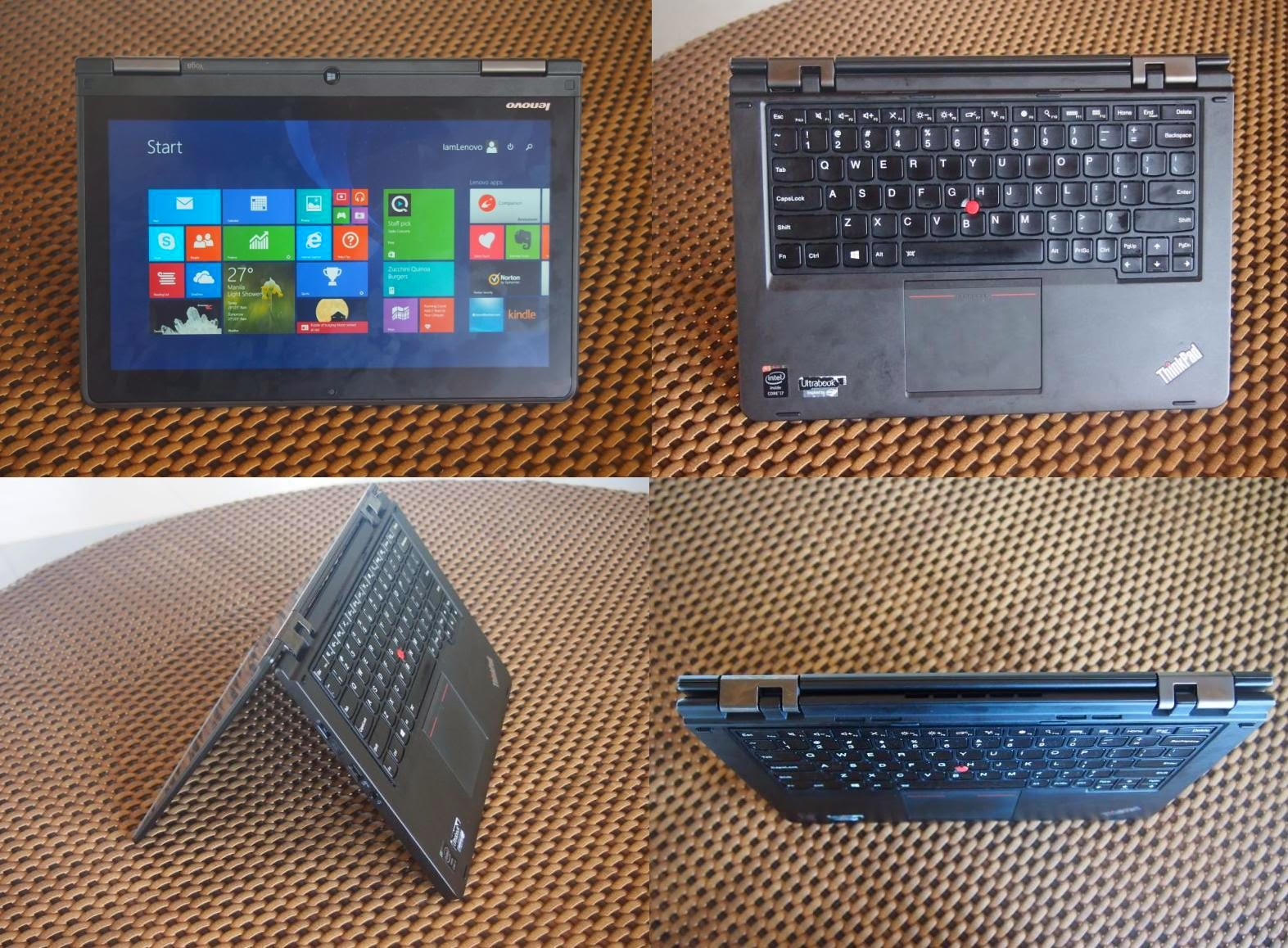 Lenovo ThinkPad Yoga Tent Mode
