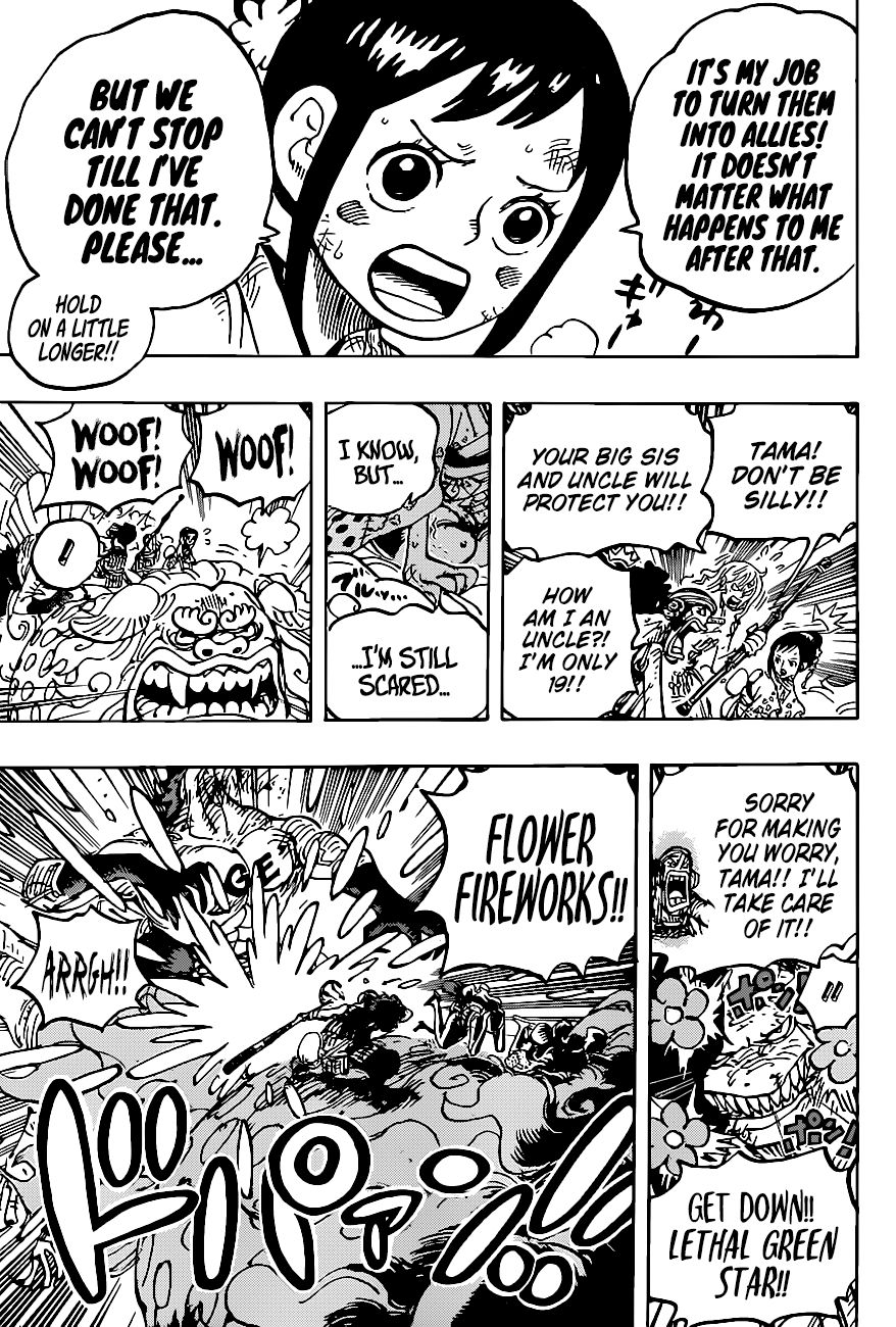 One Piece Chapter 1011 Manga Online: One Piece Chapter 1011 English - Page 11