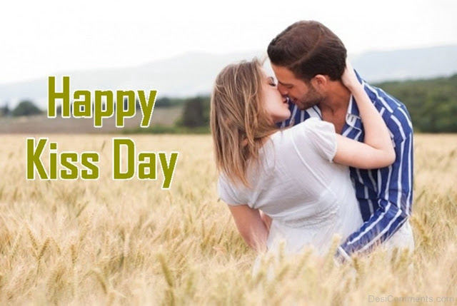 kiss day clipart
