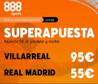 888sport superapuesta Villarreal vs Real Madrid 21 noviembre 2020